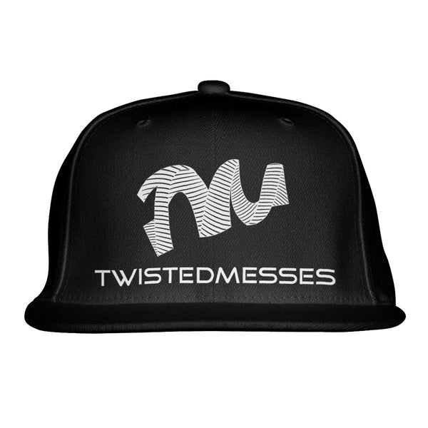 Snapback Black/White by Twisted Messes