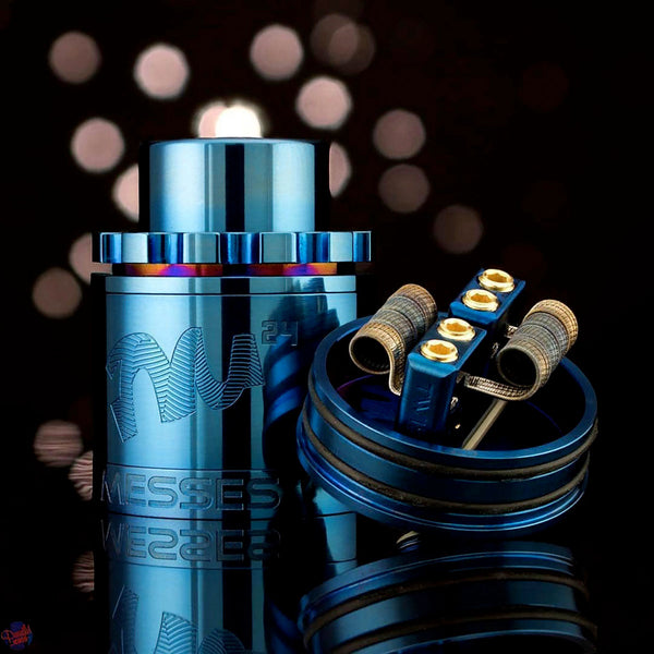 TM24 Pro Blue RDA by Twisted Messes