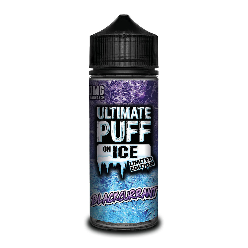 Blackcurrant 100ml Shortfill by Ultimate Puff On Ice