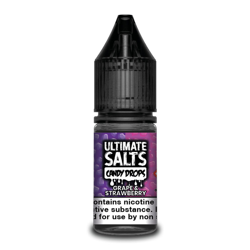 Grape & Strawberry 10ml Nicotine Salt by Ultimate Salts Candy Drops