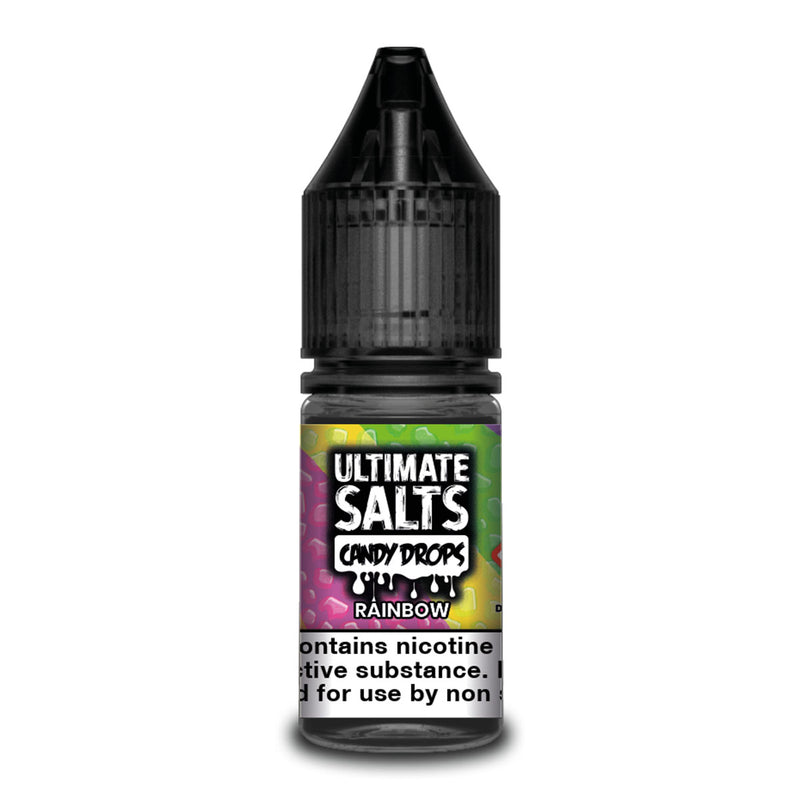 Rainbow 10ml Nicotine Salt by Ultimate Salts Candy Drops