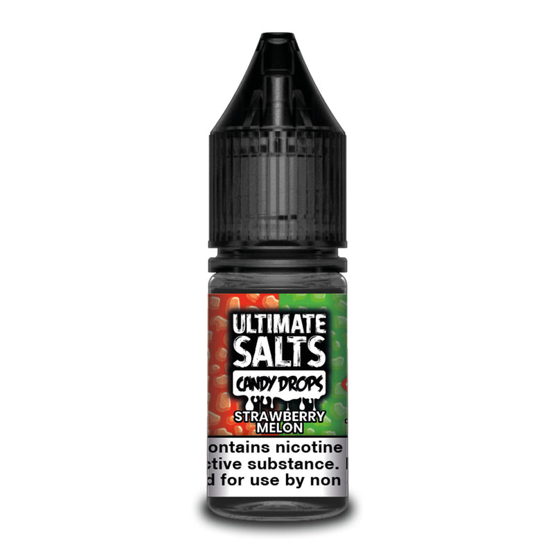 Strawberry Melon 10ml Nicotine Salt by Ultimate Salts Candy Drops