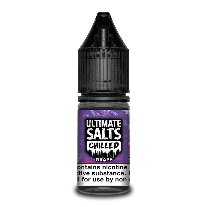 Grape 10ml Nicotine Salt by Ultimate Salts Chilled