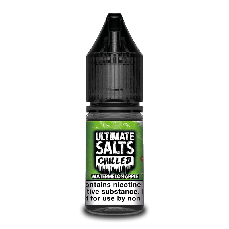 Watermelon Apple 10ml Nicotine Salt by Ultimate Salts Chilled
