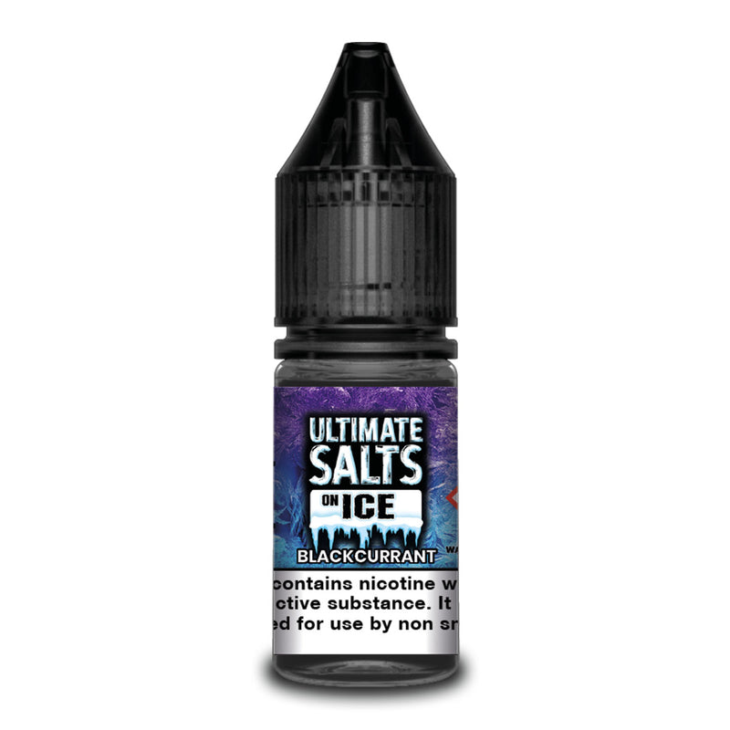 Blackcurrant 10ml Nicotine Salt by Ultimate Salts On Ice
