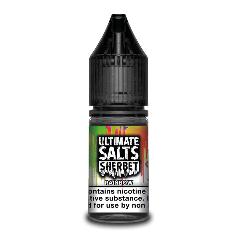 Rainbow 10ml Nicotine Salt by Ultimate Salts Sherbet
