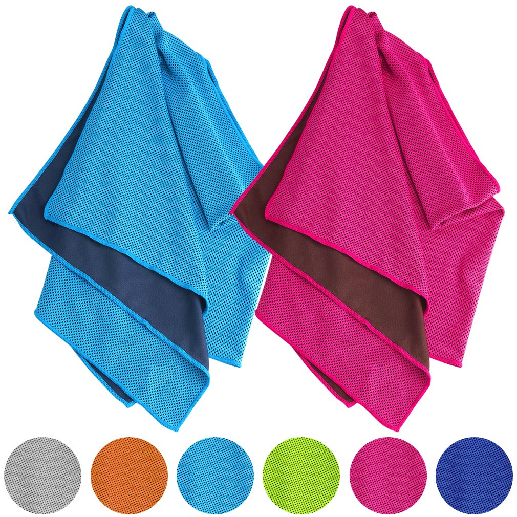 Fitness sports cold towel cooling ice towel
