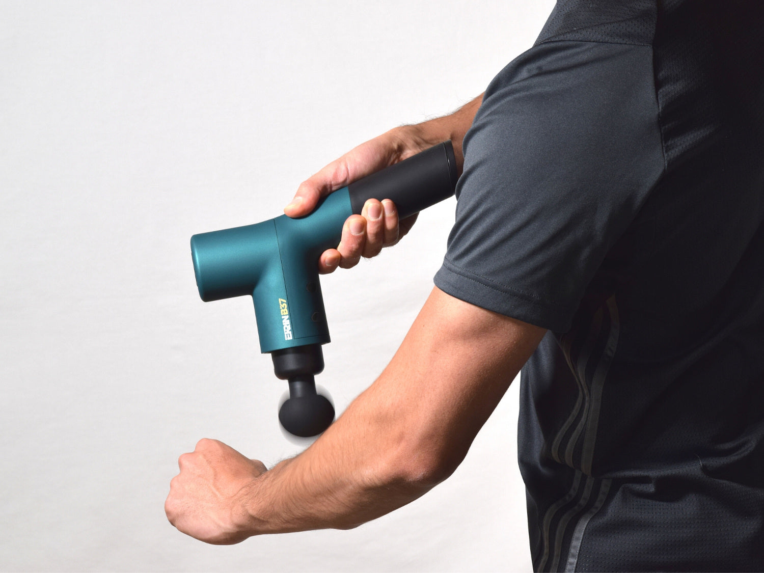 The Ekrin B37 is the best percussion massager for athletes