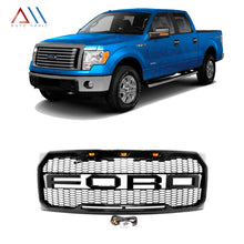 Load image into Gallery viewer, PARRILLA CON LED PARA F-150 -- LOBO 2009 /2010 /2011 /2012 /2013 /2014
