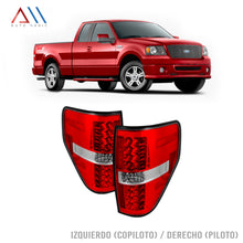 Load image into Gallery viewer, Calaveras roja led F150 Lobo 2008-2014