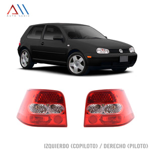 Calaveras led rojas Golf A4 1999-2005