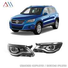 Load image into Gallery viewer, Faros  c/lupa leds Tiguan 2013-2016
