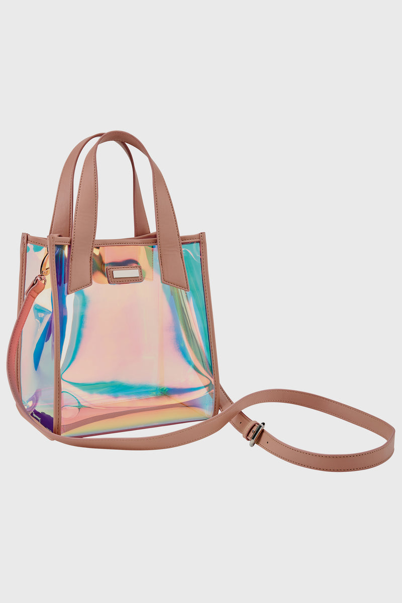 Clear Iridescent Bag (BSB3562)-TOTE-BaySky