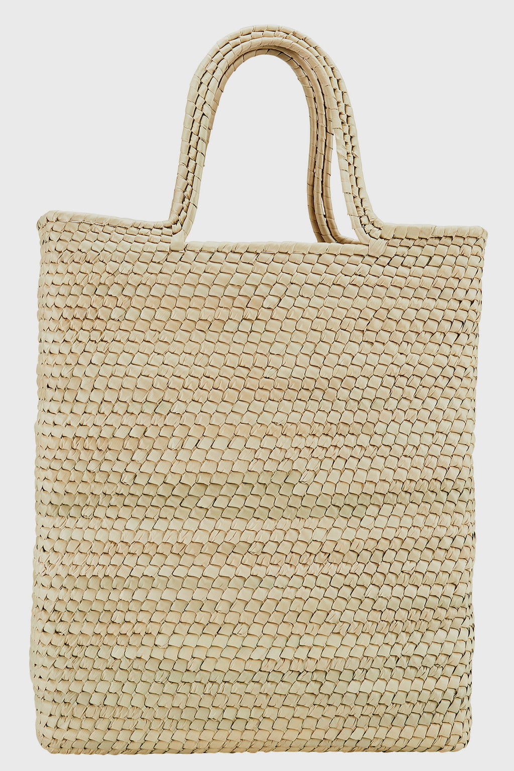 Palms Straw Long Tote (Bsb3720)-TOTE-BaySky