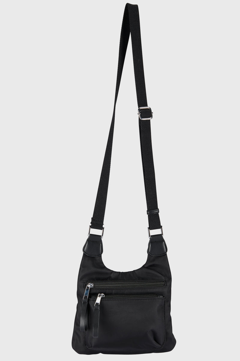 Nylon Crossbody Travel Bag (BSB3733)-CROSSBODY-BaySky