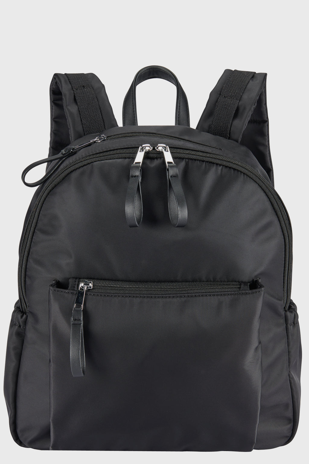 Nylon Backpack w/Padded Laptop Pocket (BSB3735)-BACKPACK-BaySky