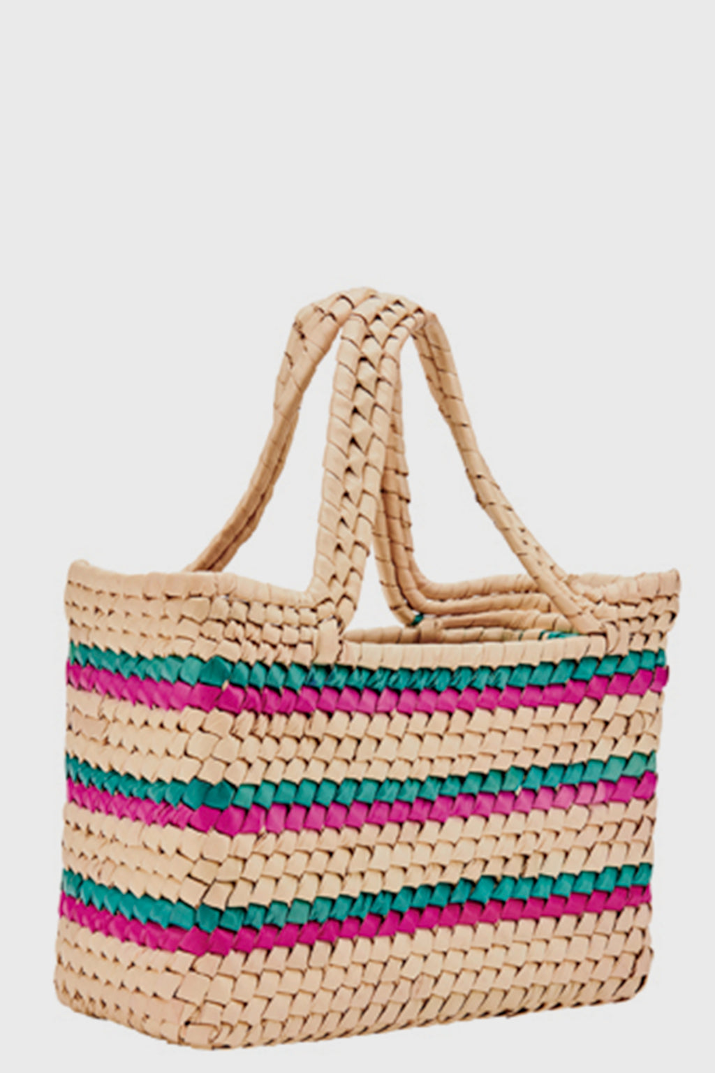 Kids Woven Straw Tote (BSK1814)-TOTE-BaySky