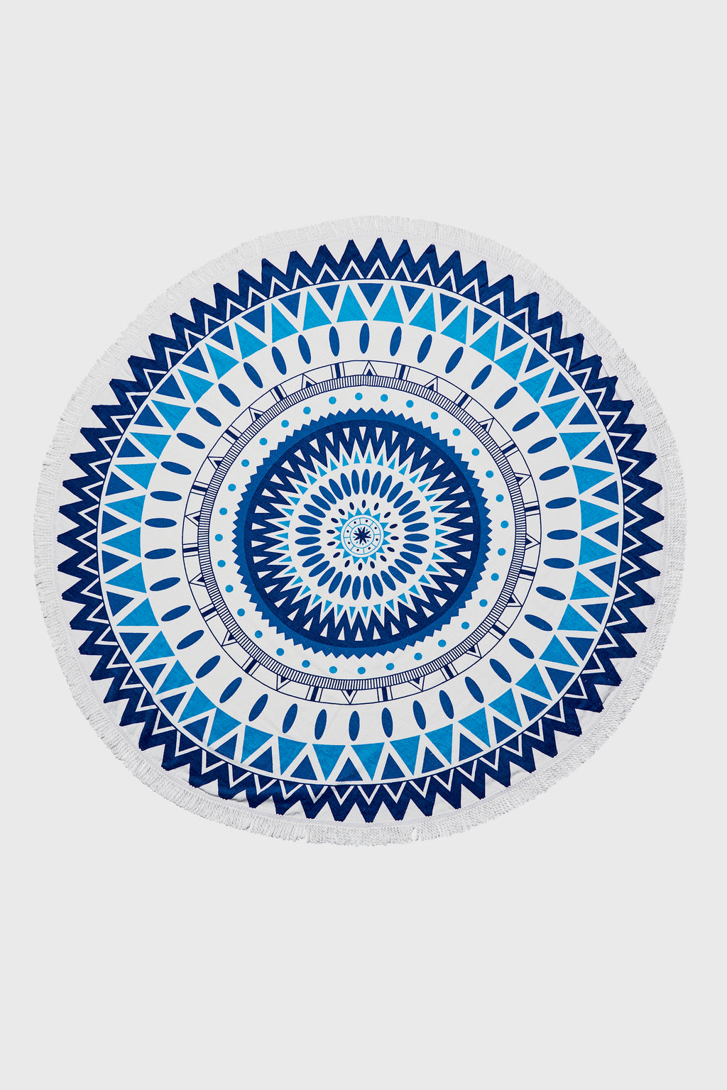 Round Cotton Beach Towels (BSL100)-BEACH TOWEL-BaySky