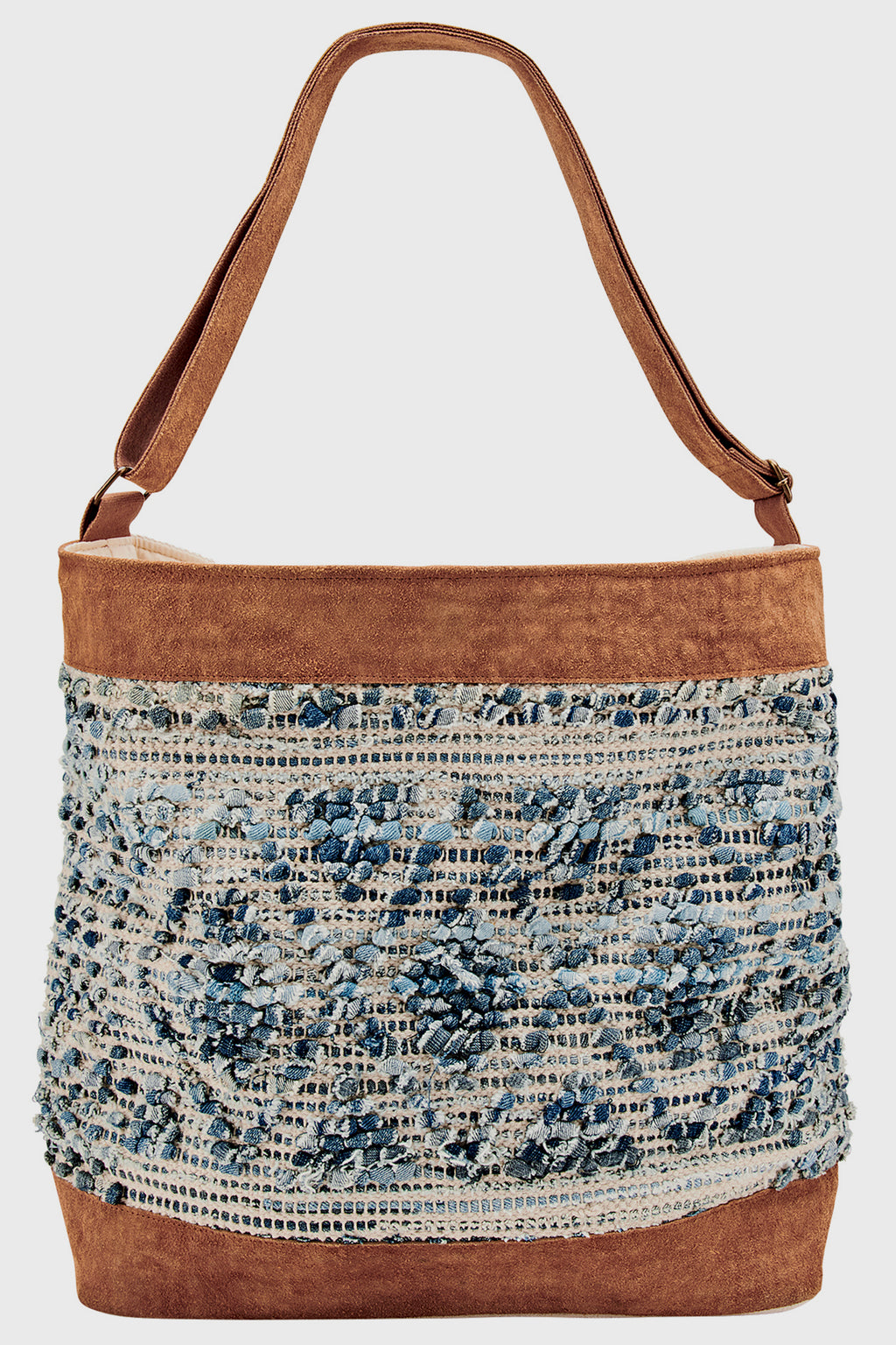 Canvas Shoulder Bag (BSB1756)-TOTE-BaySky