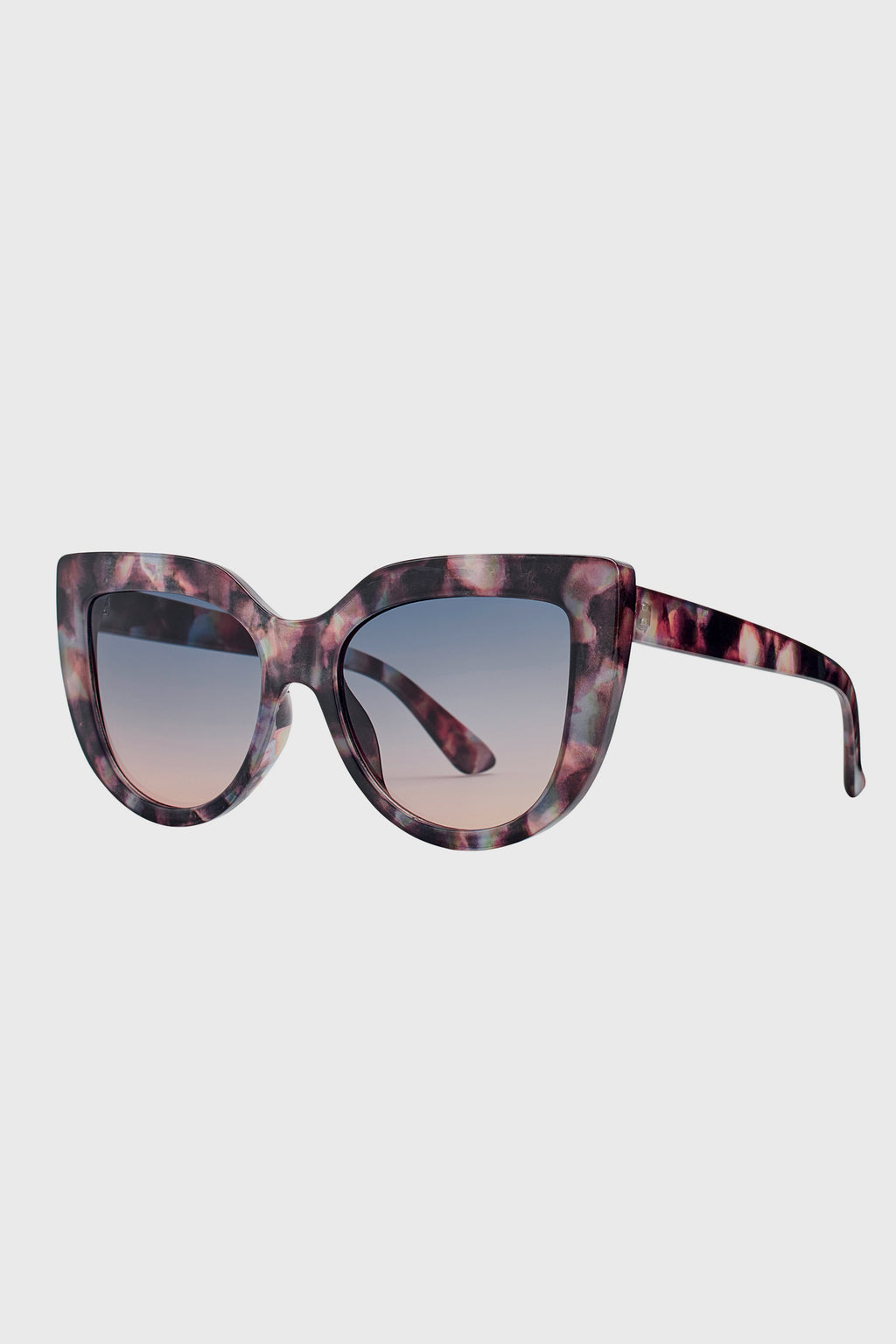 Oversized Cat Eye Tortoise Sunglass (BSG1083)-SUNGLASSES-BaySky
