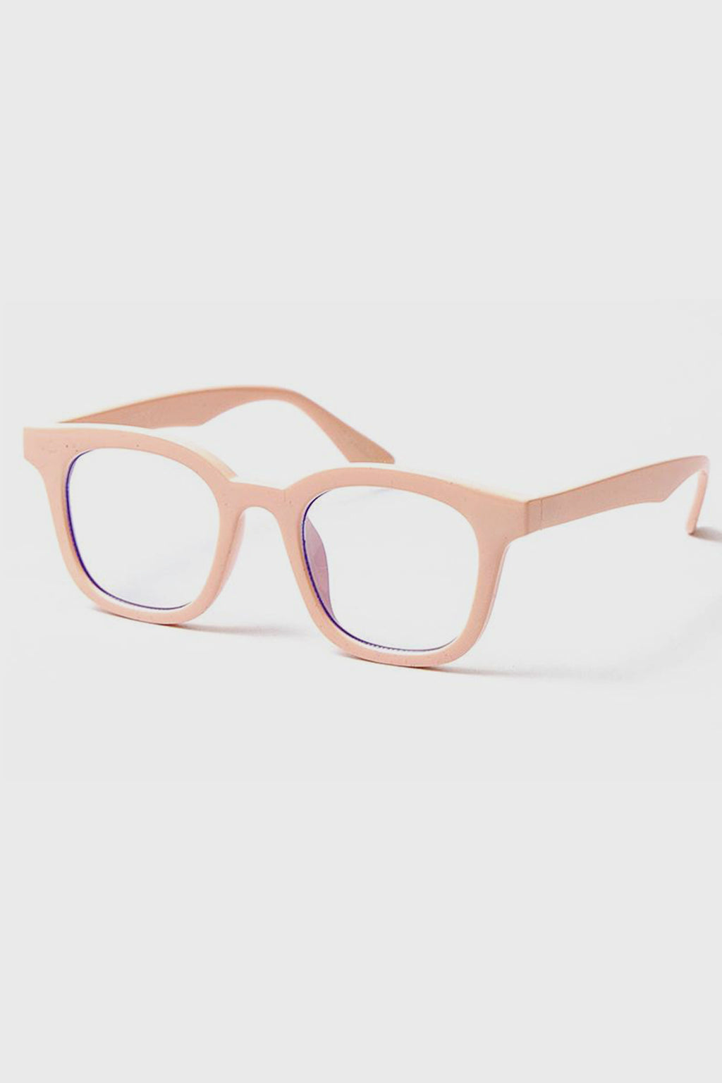 Womens Square Frame With Blue Light Lens (Bsr1132)-GLASSES-BaySky