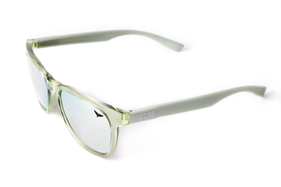 Green Recycled Plastic Sunglasses (SCS6002)