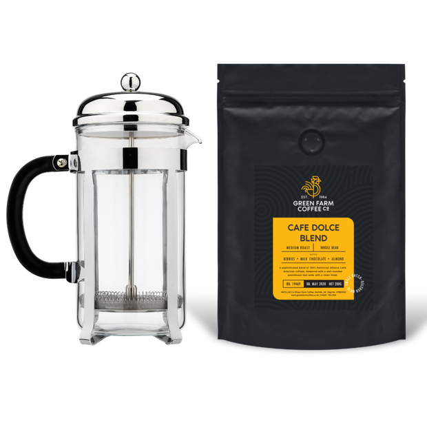 Cafetiere Coffee Gift Box