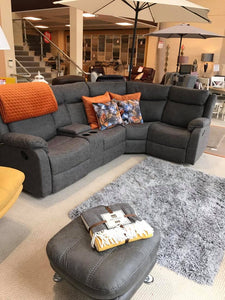 Ella Corner Sofa - Sultry Brown