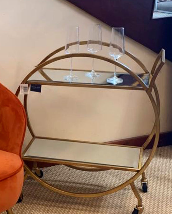 Gold Cart drinks Trolley