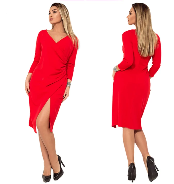 Women Dress⎟Plus Size 6XL