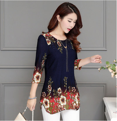 Women's Printed Blouse