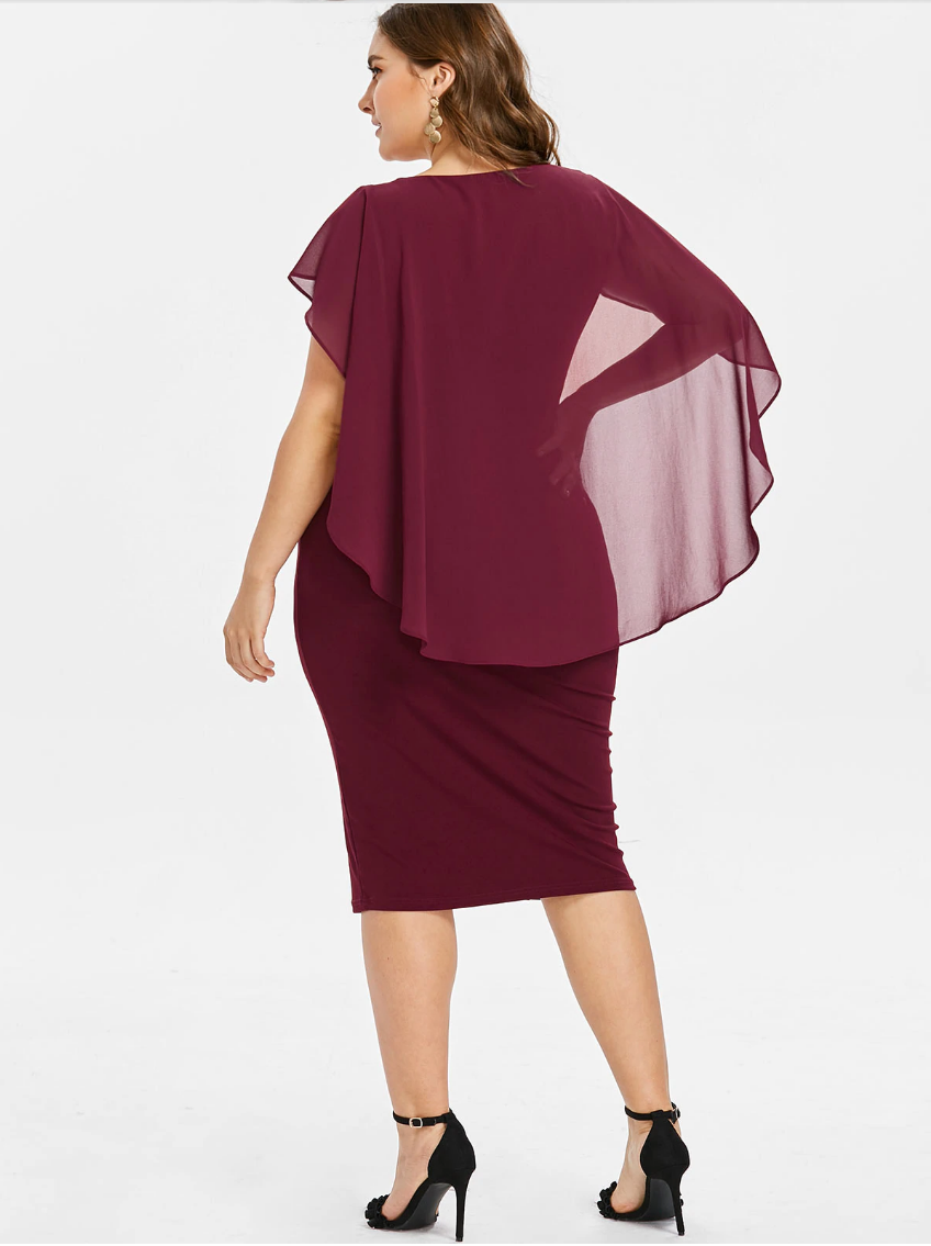 Women Plus Size Dresses 5XL