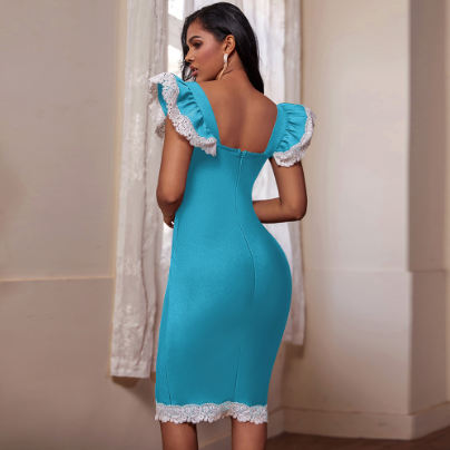 Blue Bandage Dress⎟Quality Clothing