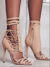 Women Gladiator High Heels