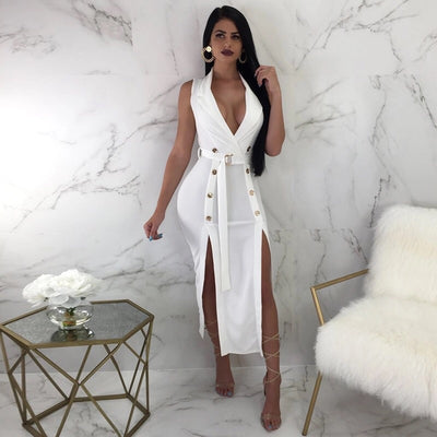 Women's High Slit Dresses