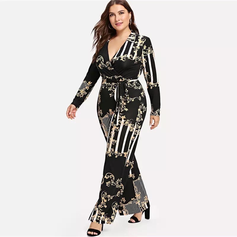Plus Size  Jumpsuit⎟Krystel's Boutique