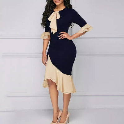 Women Dresses Mermaid Flare