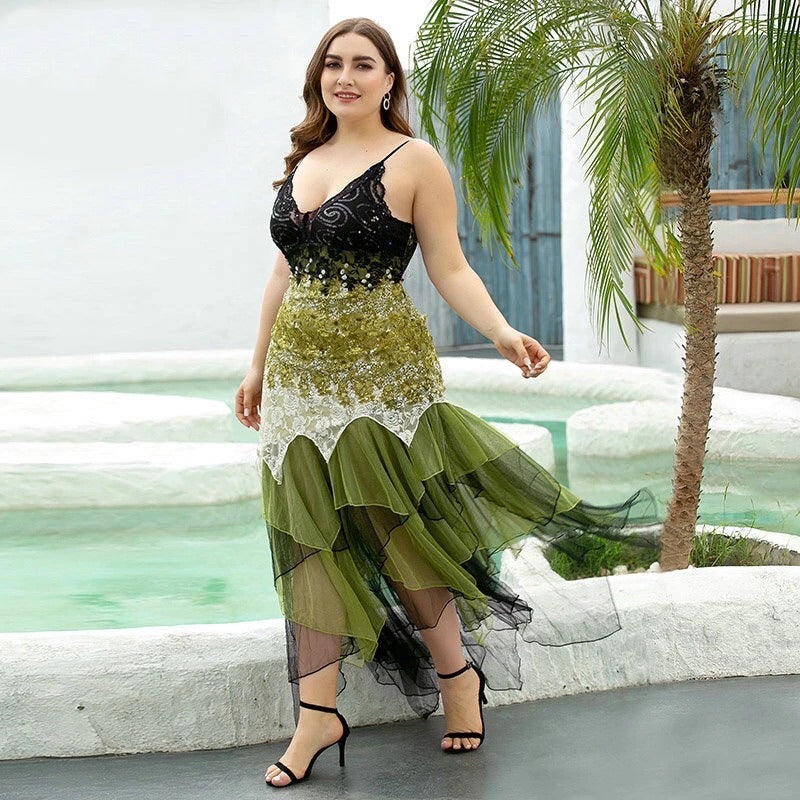 Plus Size Evening Dresses⎟Krystel's Boutique