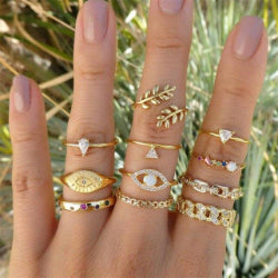 Women's Gold Rings - KRYSTEL'S BOUTIQUE