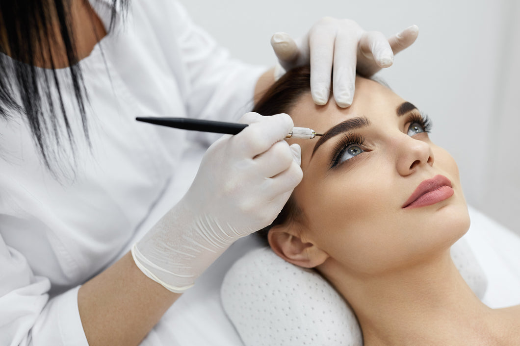 Enhancing Eyebrows with Microblading Techniques Certificate Level 4