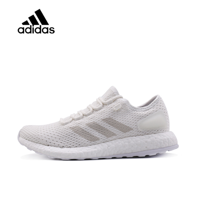 b33523f48 Original New Arrival Authentic ADIDAS PureBOOST Clima Mens Women Running  Shoes Mesh Breathable Comfortable Support Sport Sneaker