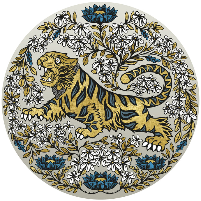 Tipu's Tiger in Jasmine (Light)