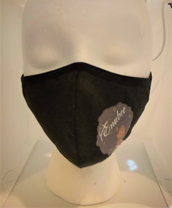 Black Facemasks-ENUBEE Woman