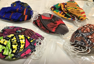 African Style Facemasks- Buy 2 for $15