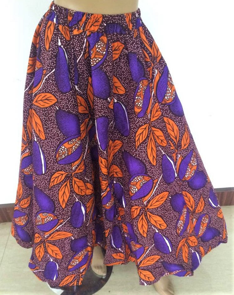 African Style: Beautiful patterned skirt