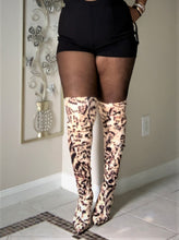 Leopard Print Over the knee boots (Thigh High)