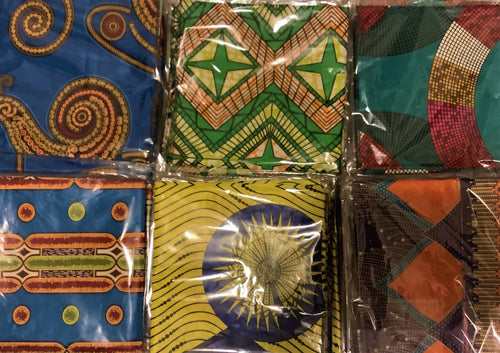 African Style- Double Fabric Waxprint Head Scarf /Tie
