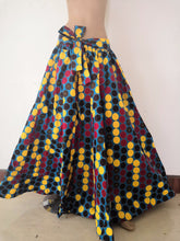 NEW! Beautiful patterned skirt, African (One full size) - ENUBEE