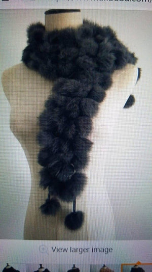 Women's Real Fur wraps - ENUBEE