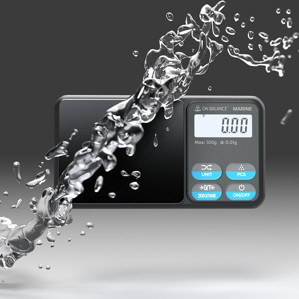 World's First IP65 Water-Resistant Pocket Scale Launches - The Truweigh Blog - Marine Water Proof Resistant Dust Proof Durable New Product Launch Announcement